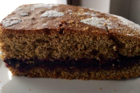 torta saraceno mirtilli