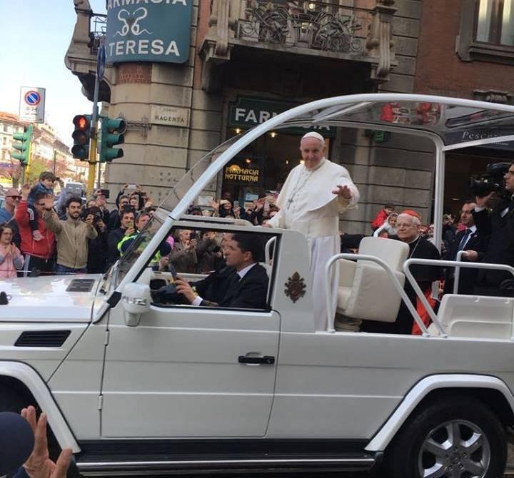 monza papa francesco