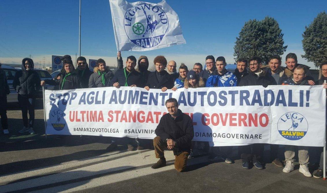 Attilio Fontana ad Agrate Brianza