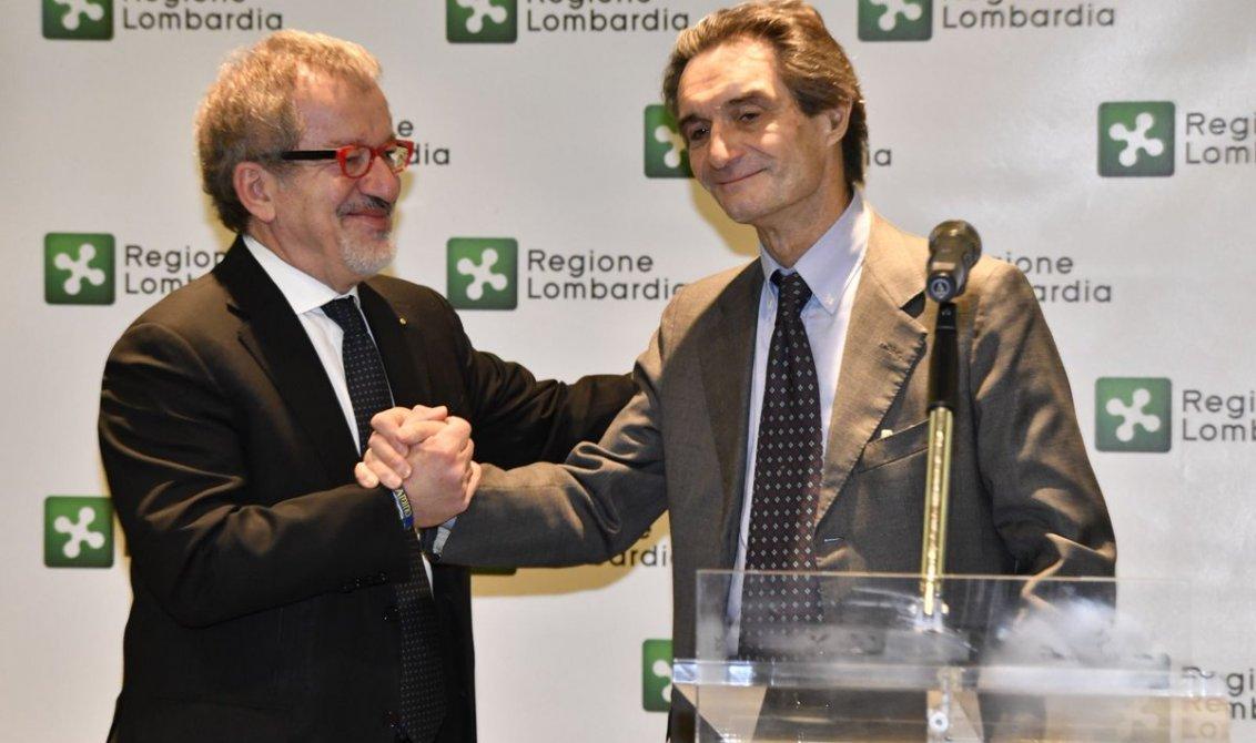 Lombardia, Fontana già al lavoro