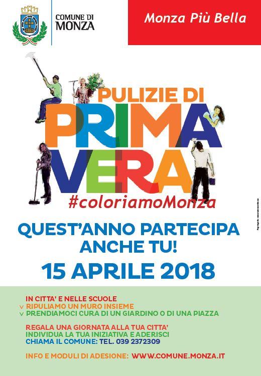 """""""Pulizie di Primavera"""" a Monza"""