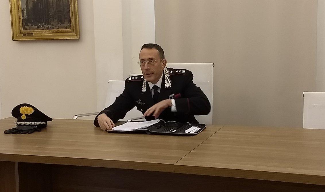 Ten. Col. Simone Pacioni Comando Carabinieri Monza