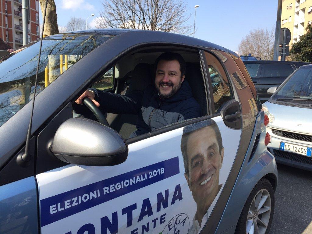 Salvini si prepara a guidare il Paese