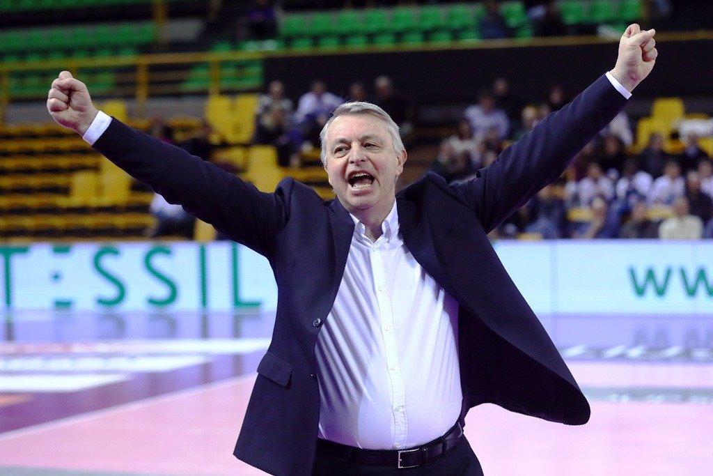 Pedullà, allenatore del Saugella Monza