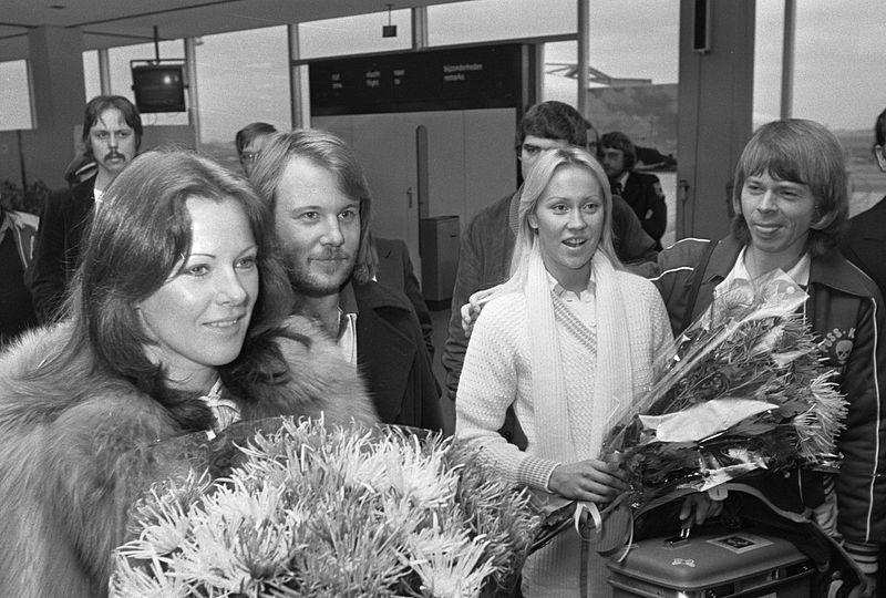 Gli ABBA nel 1976 - foto wikicommons