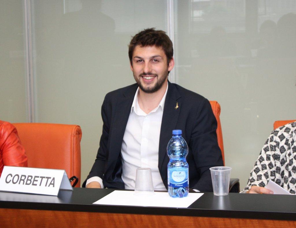 Il consigliere regionale Alessandro Corbetta