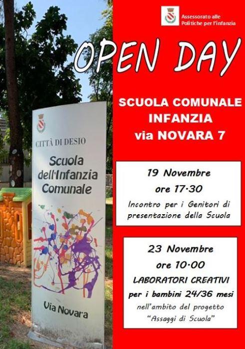Desio: open day alla Scuola dell'Infanzia - Monza in Diretta